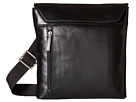 Scully Hidesign Simple Tablet and Necessities Shoulder Tote (Black)