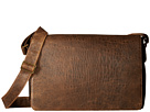 Scully Squadron Messenger Bag (Antique Brown)