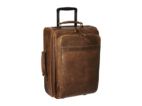 Scully Squadron Wheeled Carry-On - Antique Brown