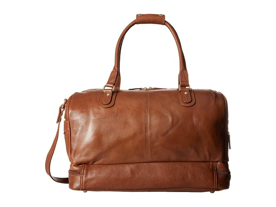 Scully Hidesign Eiron Large Duffel Bag Tan Duffel Bags
