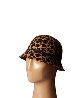 Karen Kane - Leopard Print Felt Cloche