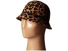 Karen Kane Leopard Print Felt Cloche (Leopard)