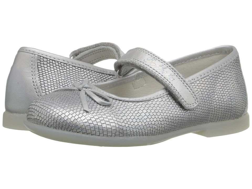 Pablosky Kids 0844 Toddler Silver Girls Shoes