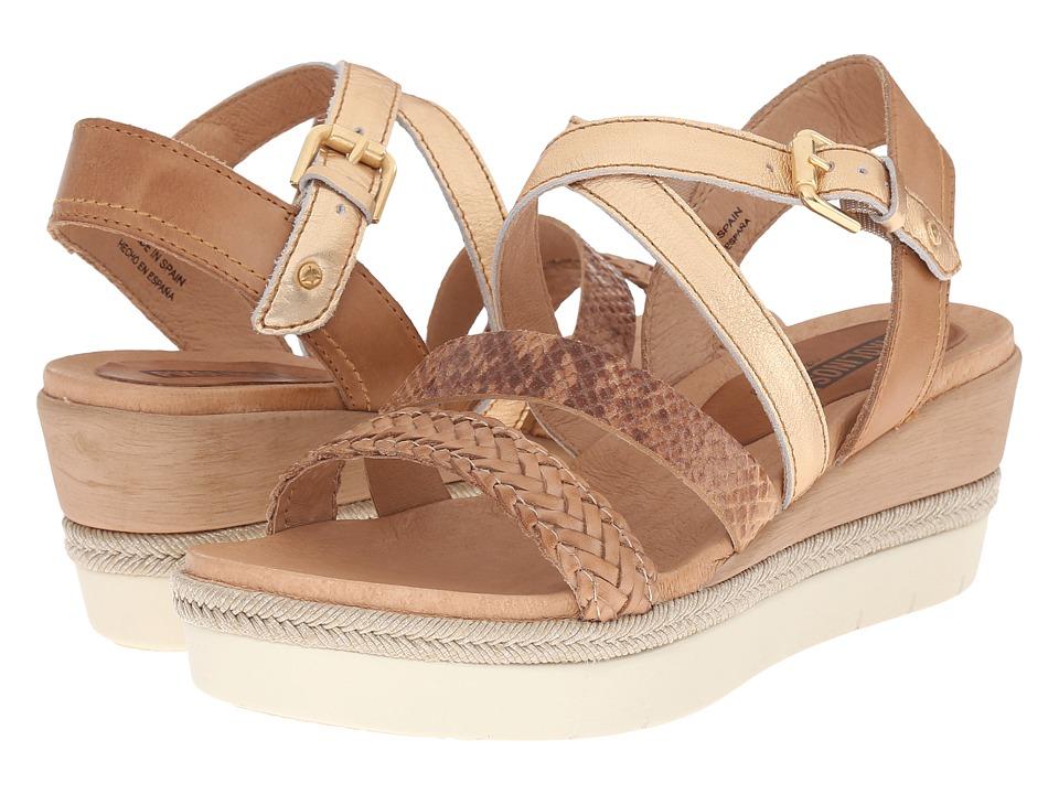 Pikolinos Madeira W3G 0765C1 Nude/Camel Womens Shoes