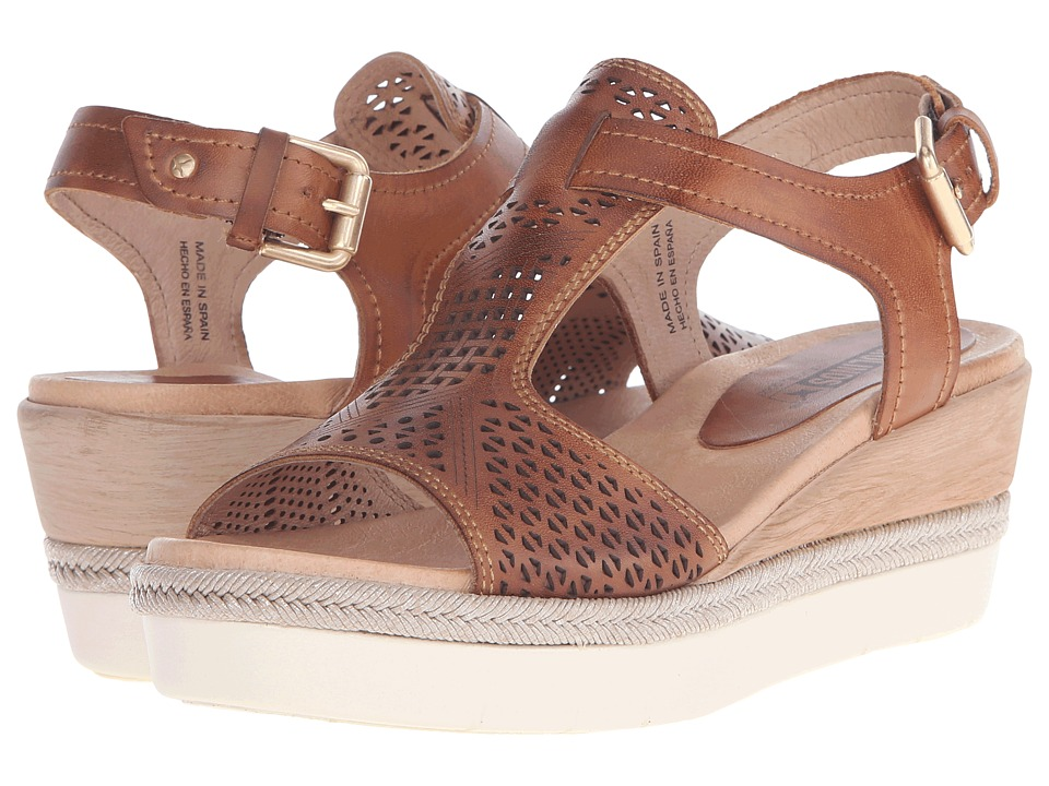 Pikolinos Madeira W3G 0786 Brandy Womens Wedge Shoes