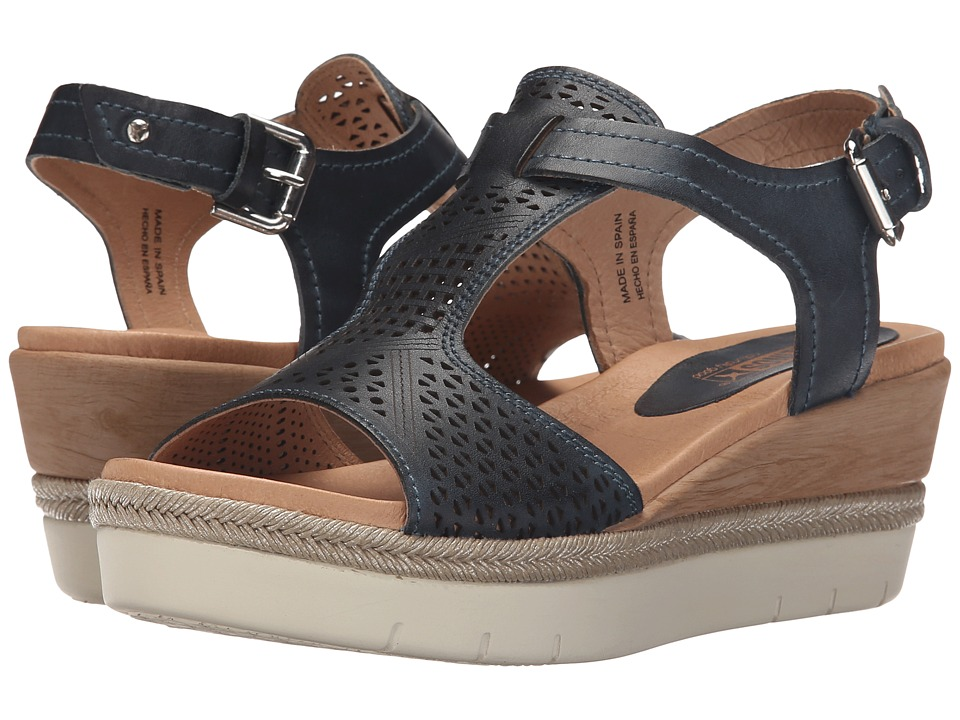 Pikolinos Madeira W3G 0786 Ocean Womens Wedge Shoes