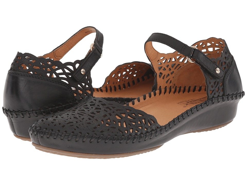 Pikolinos Puerto Vallarta 655-1532 (Black) Women's Shoes