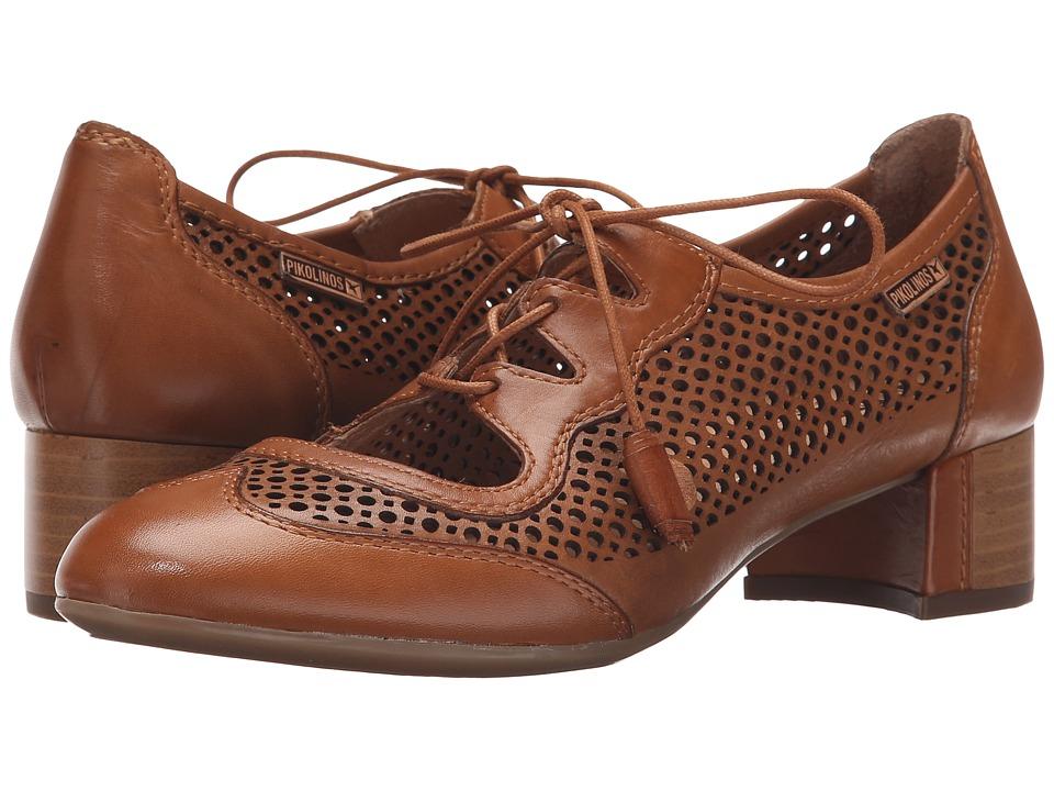 Pikolinos - Saona W8E-4554 Brandy Womens Shoes $175.00 AT vintagedancer.com