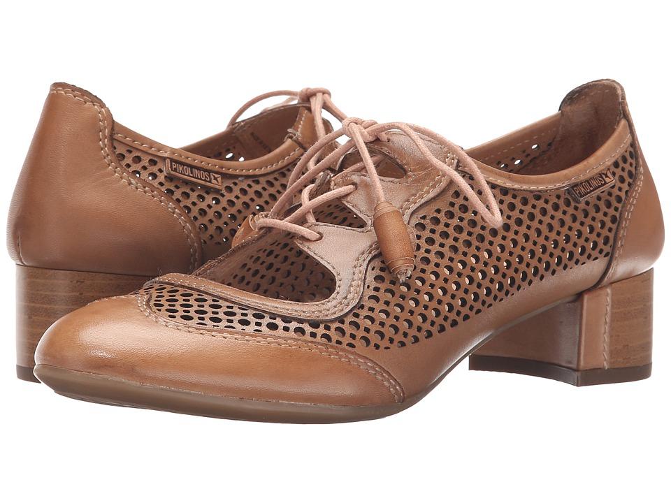 Pikolinos - Saona W8E-4554 Nude Womens Shoes $175.00 AT vintagedancer.com