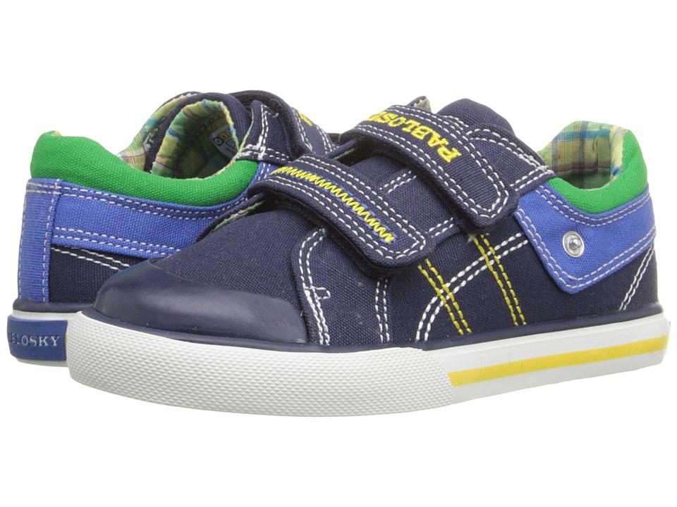 Pablosky Kids 9308 Toddler Navy Boys Shoes