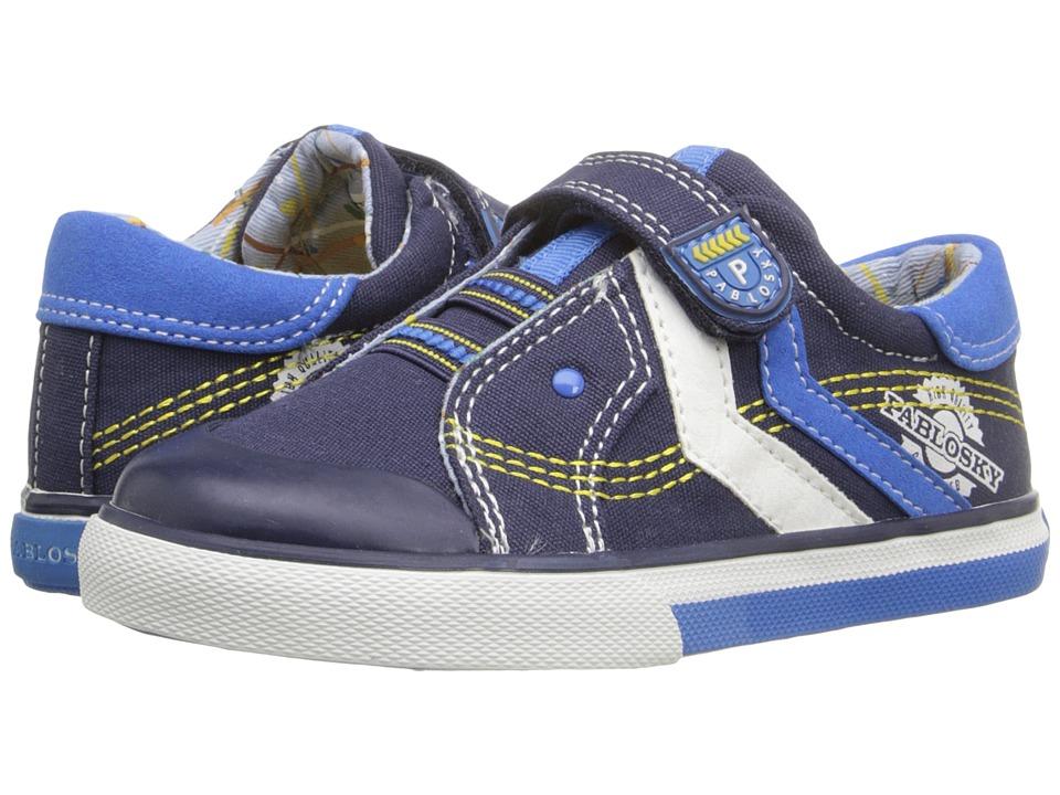 Pablosky Kids 9306 Toddler Navy Boys Shoes