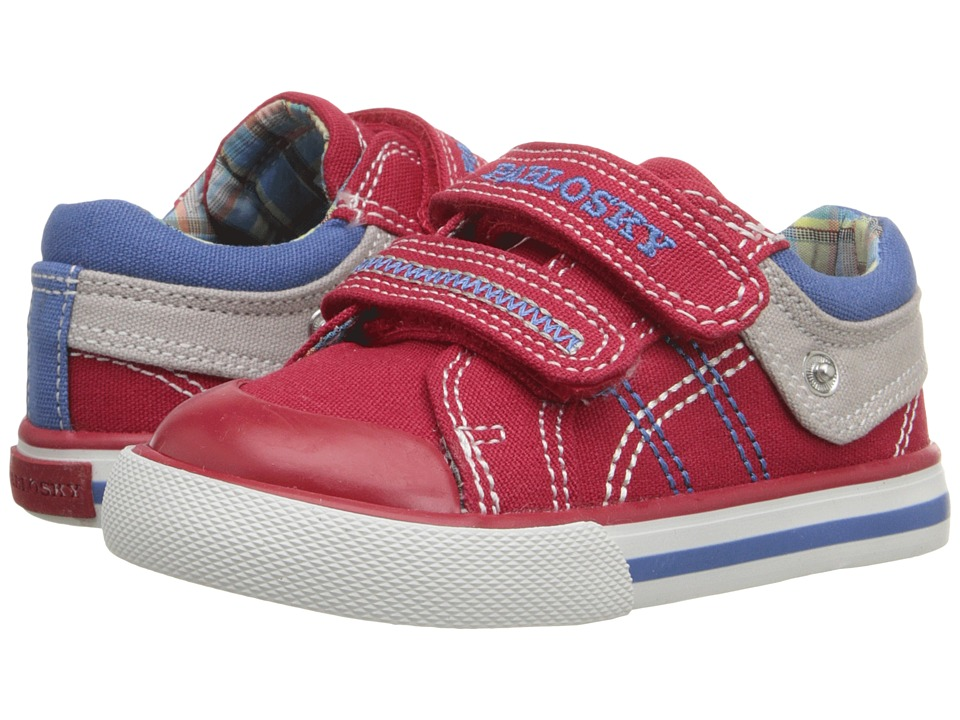 Pablosky Kids 9308 Toddler Red Boys Shoes