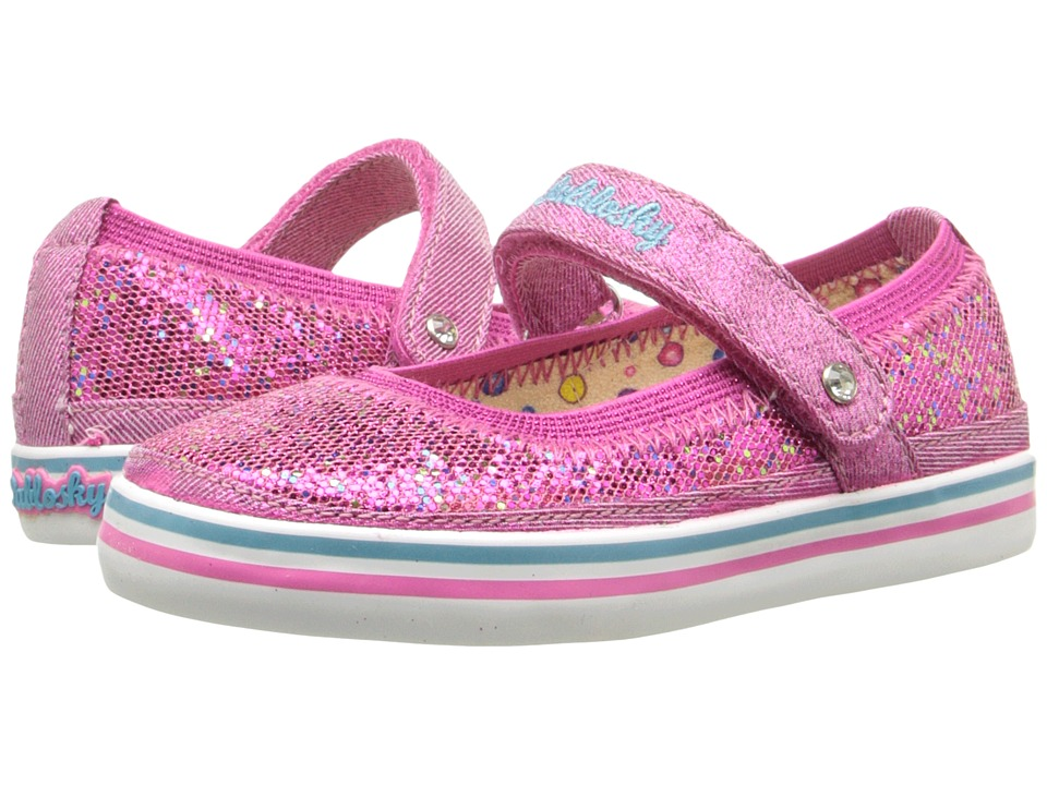 Pablosky Kids 9313 Toddler Fuchsia Girls Shoes