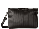 Harveys Seatbelt Bag Bow Clutch (Salvage Black)