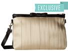 Harveys Seatbelt Bag Bow Clutch (Cream/Black)