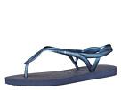 Havaianas - Luna Flip Flops (Navy Blue)