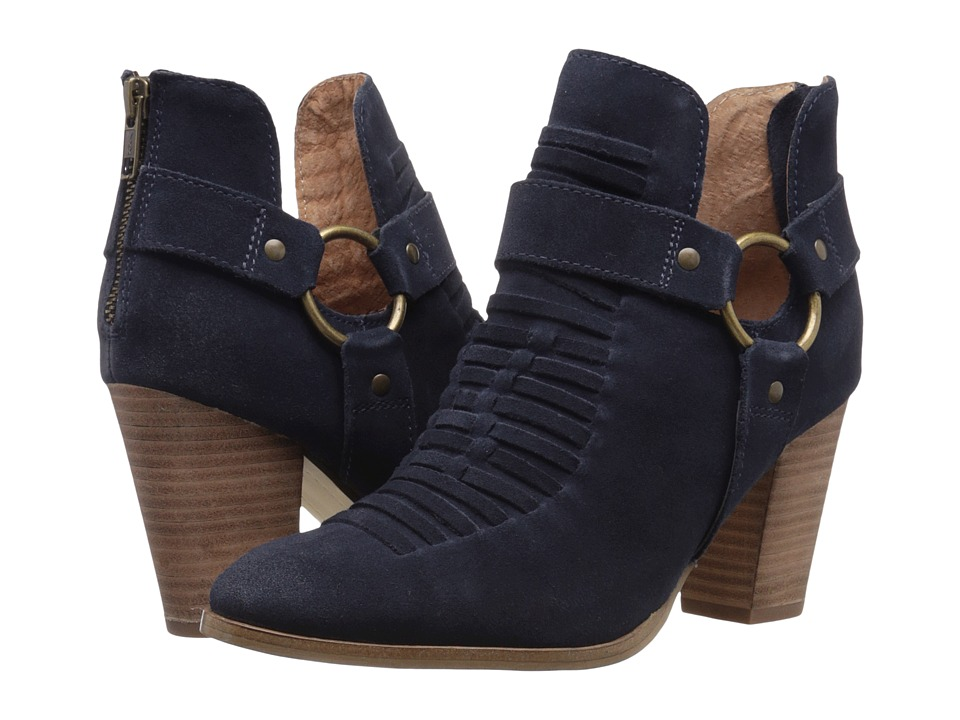 Seychelles Impossible (Navy Suede) Women