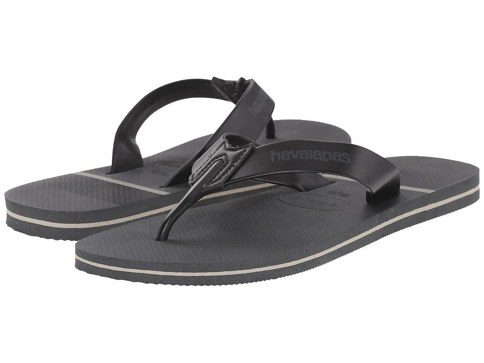 Havaianas Urban Craft Flip Flops (Dark Grey) Men