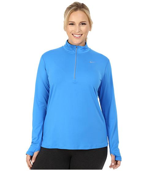 Nike Dry Element 1/4 Zip Running Top (Size 1X-3X)
