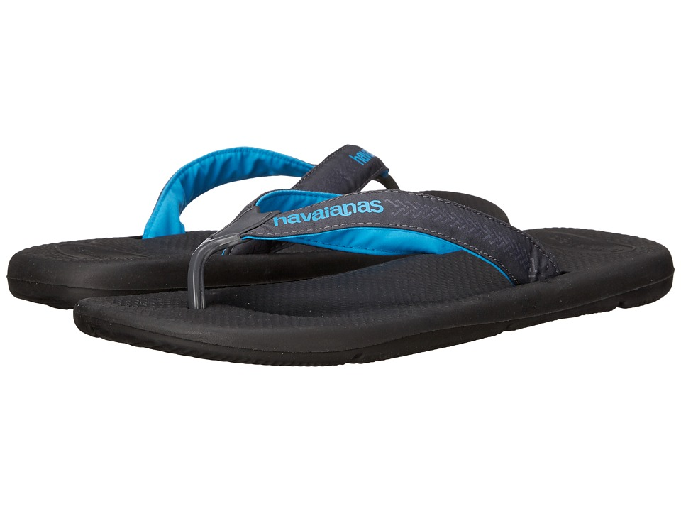 Havaianas Surf Pro Flip Flops (Black) Men