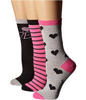 Life is good - Valentine's Day Crew Sock 3-Pack
