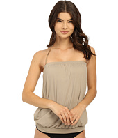 Vince Camuto - Polish Blouson Tankini w/ Removable Soft Cups
