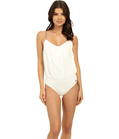 Vince Camuto - Polish Blouson Maillot w/ Removable Soft Cups