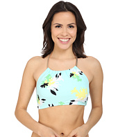 Vince Camuto - Pool Side Chain Halter Crop Top w/ Removable Soft Cups