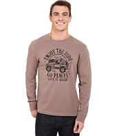 Life is good - Go Places Crusher Long Sleeve Tee