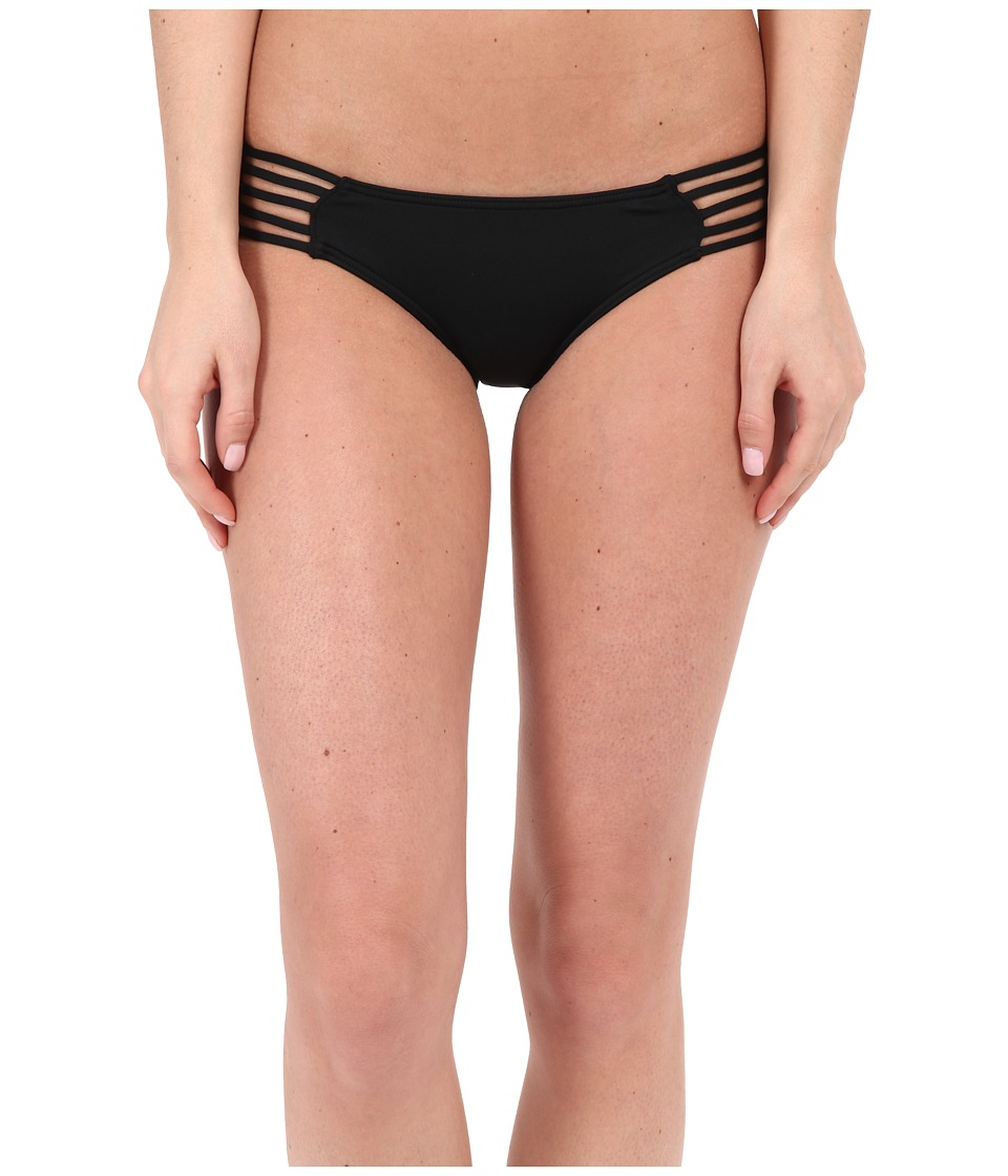 Rip Curl Love N Surf Luxe Hipster Bottoms Black Womens Swimwear