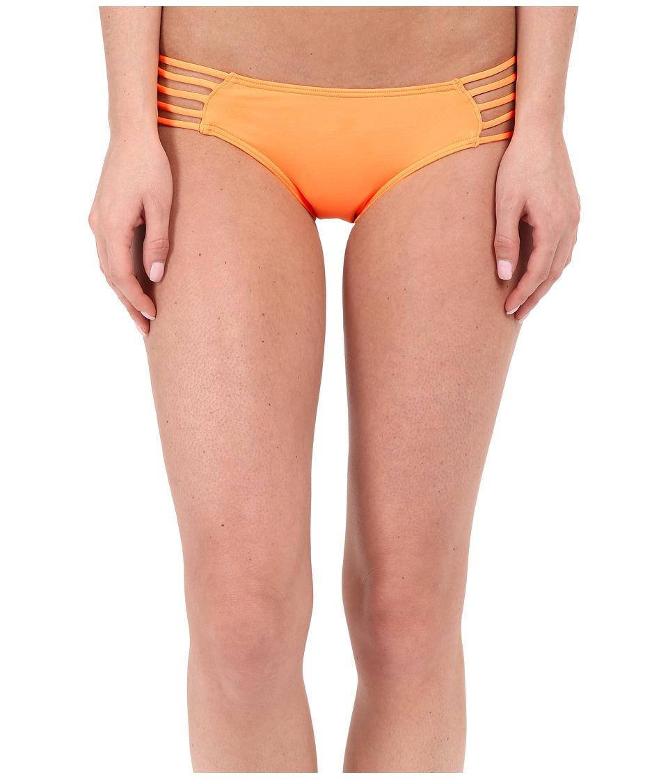 Rip Curl Love N Surf Luxe Hipster Bottoms Light Orange Womens Swimwear