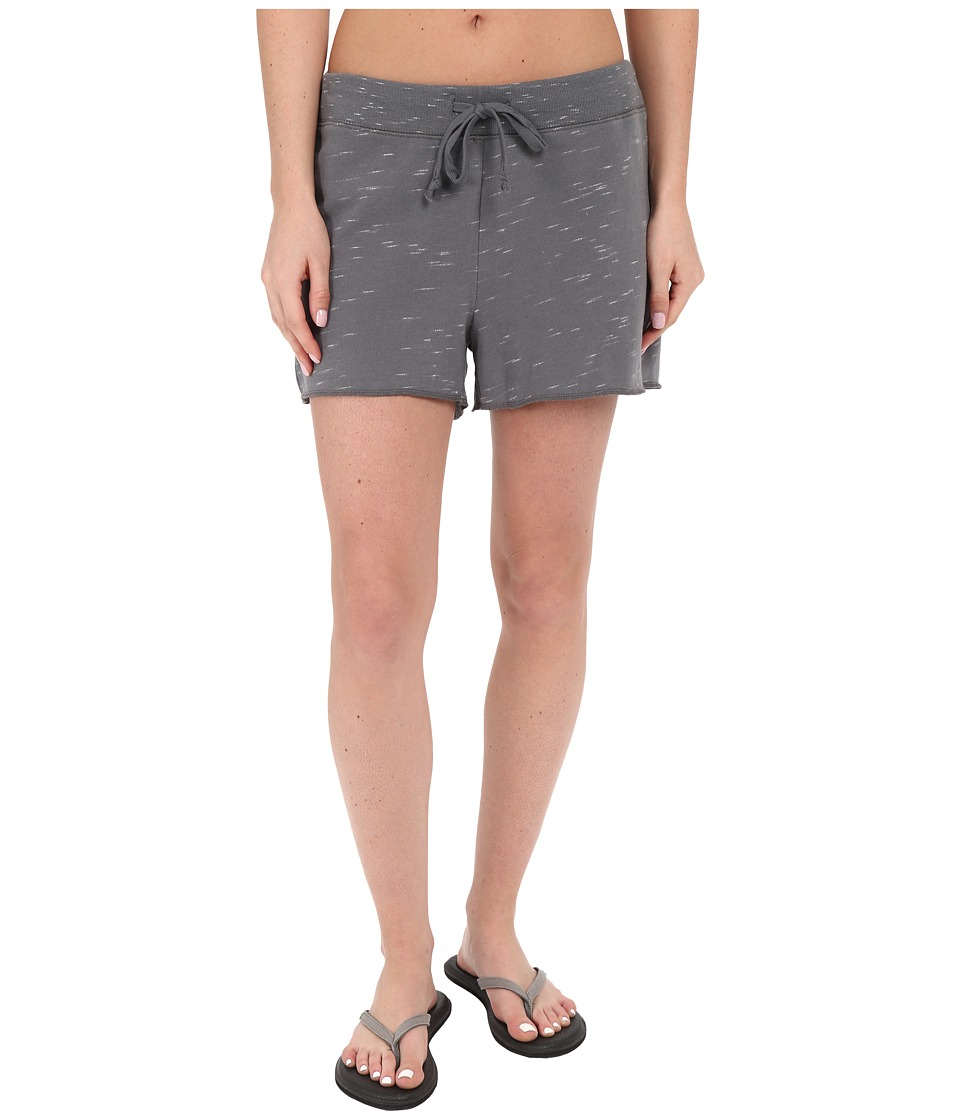 Life is good Space Dye Shorts Slate Gray Womens Workout