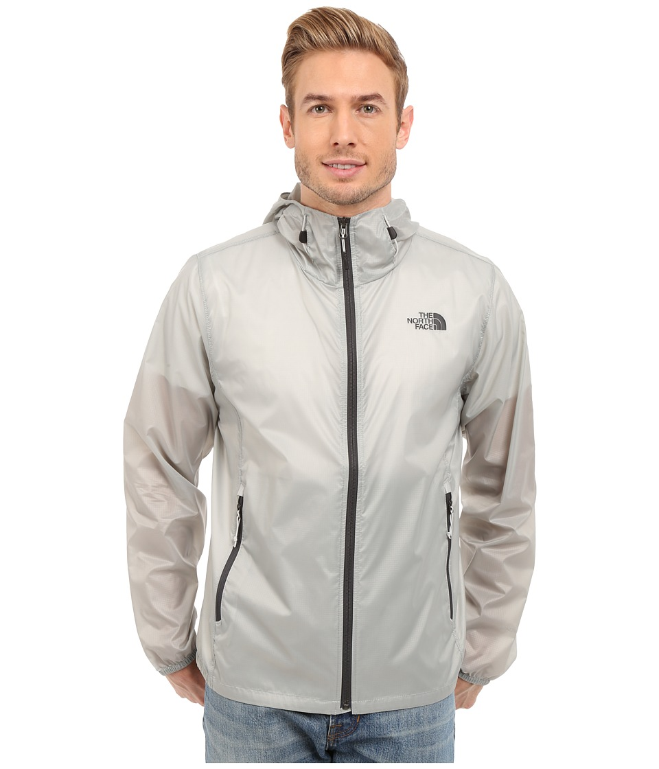 The North Face Cyclone Hoodie High Rise Grey Mens Coat