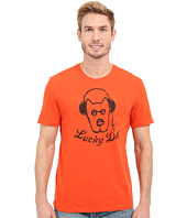Life is good - Lucky Dog Headphones Pocket Sleep Tee