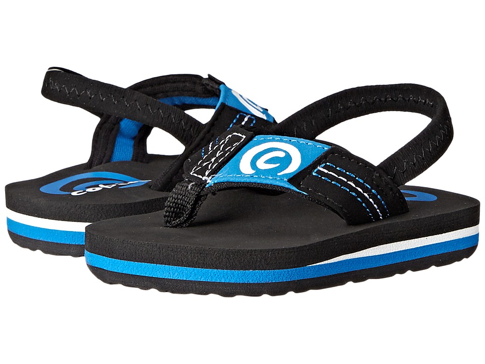 Cobian Kids Floatie Infant/Toddler Black 3 Boys Shoes