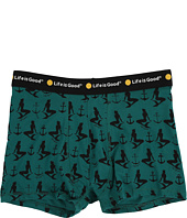 Life is good - Mermaids and Anchors Classic Boxer Briefs
