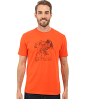 Life is good - Go Places Bicycle Crusher Tee