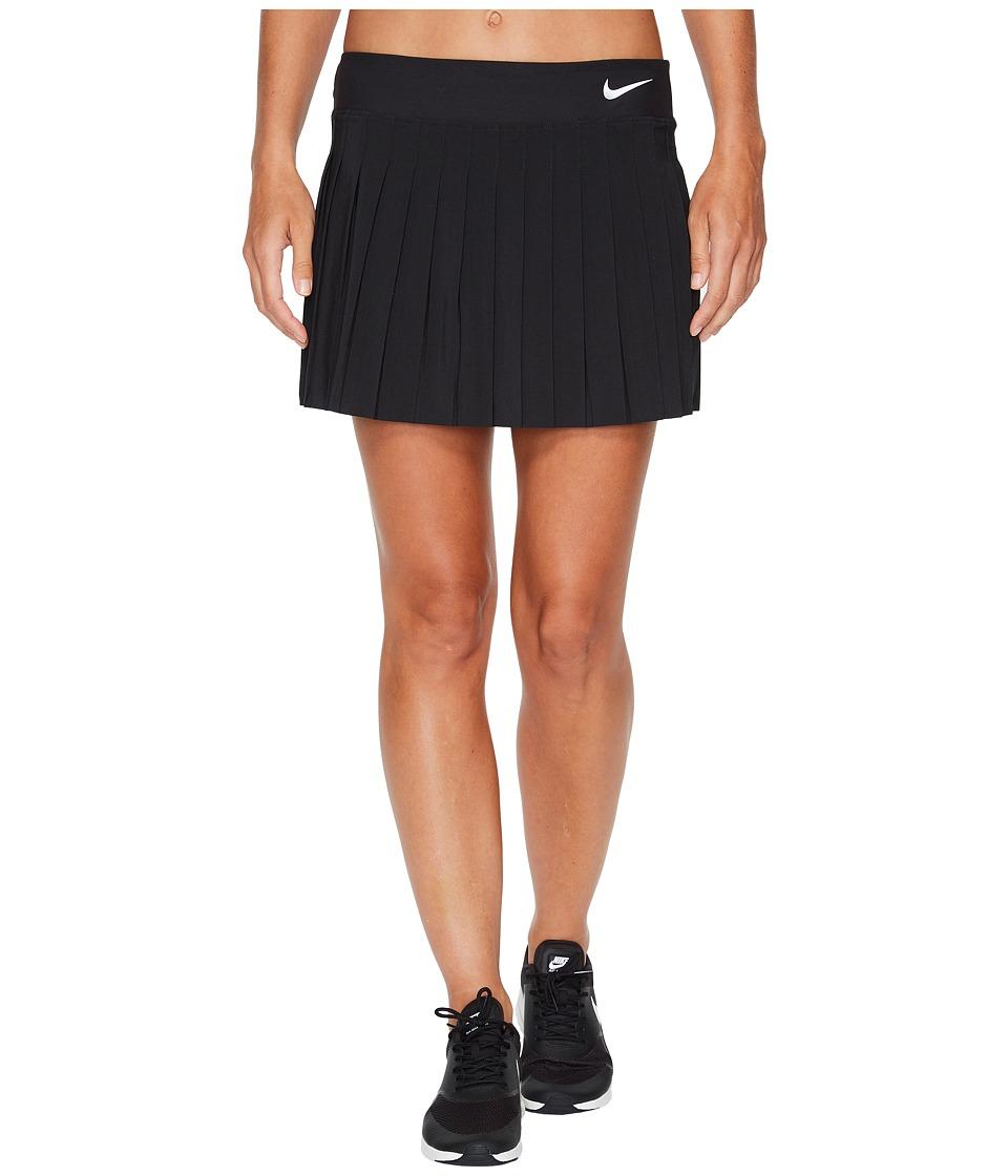 Nike Victory Skirt (Black/Black/White) Women