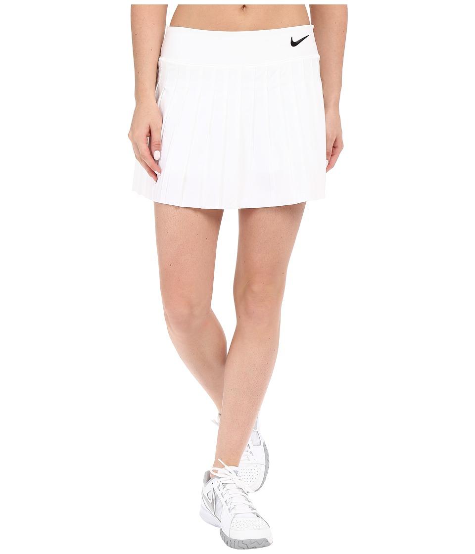 Nike Victory Skirt White/White/Black Womens Skort