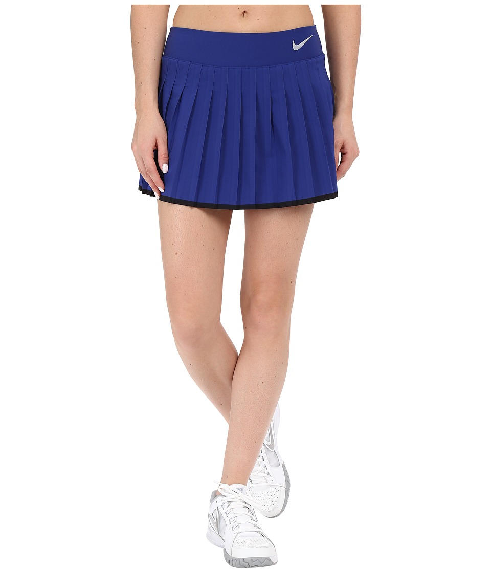 Nike Victory Skirt Deep Royal Blue/White Womens Skort