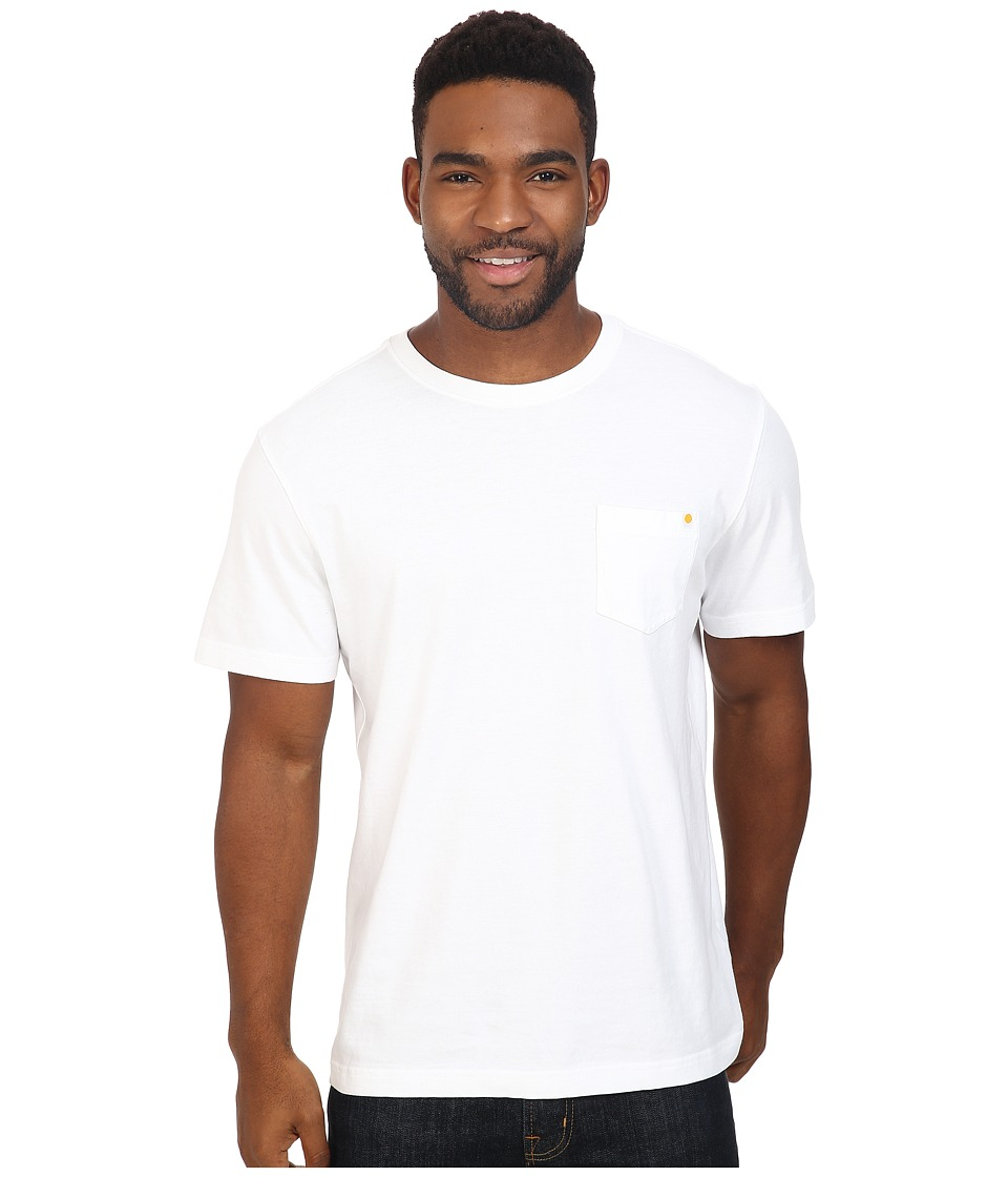 Life is good - Enjoy The Ride Bicycle Pocket Crusher Tee (Cloud White) Men