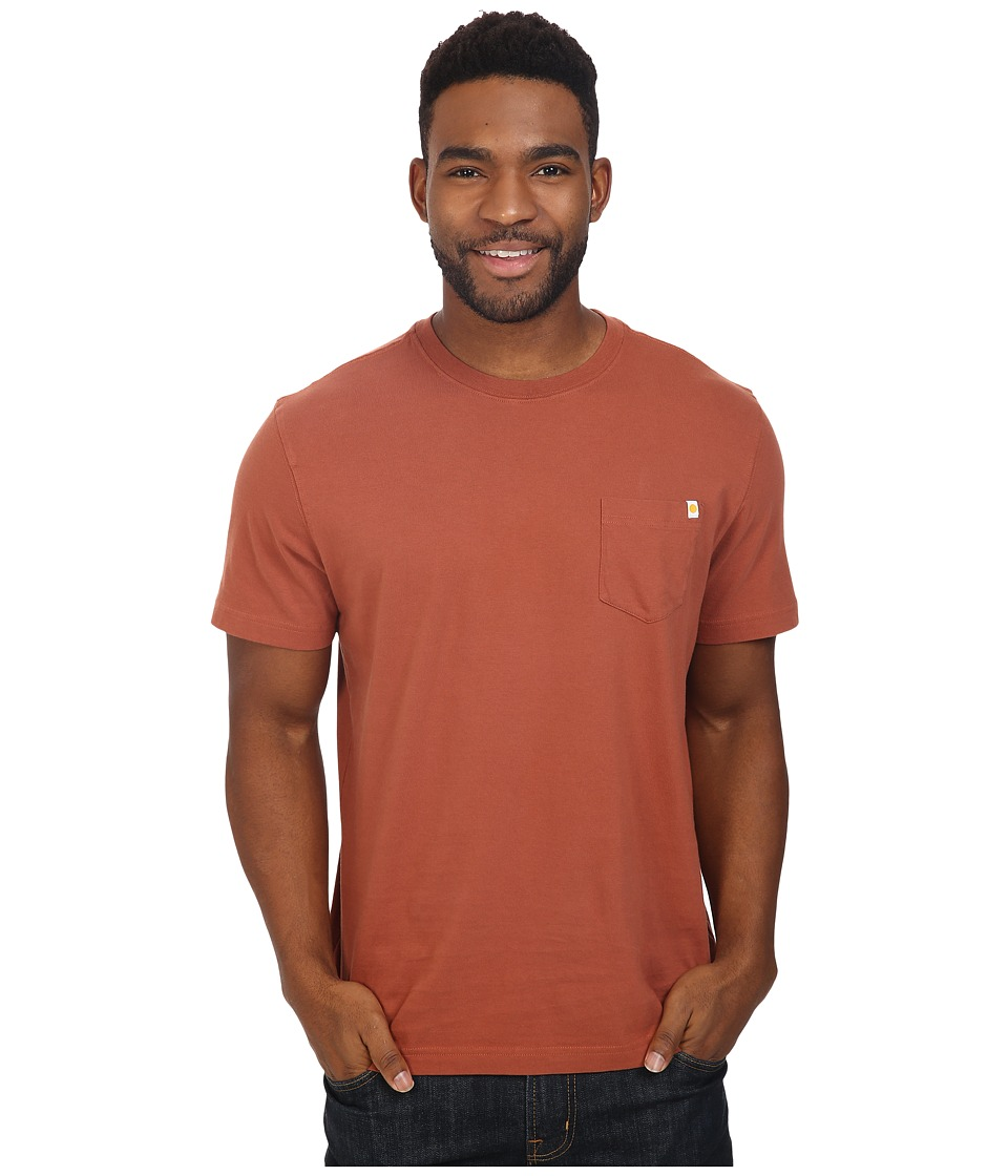 Life is good - Seas The Day Back Graphic Pocket Crusher Tee (Rusty Copper) Men