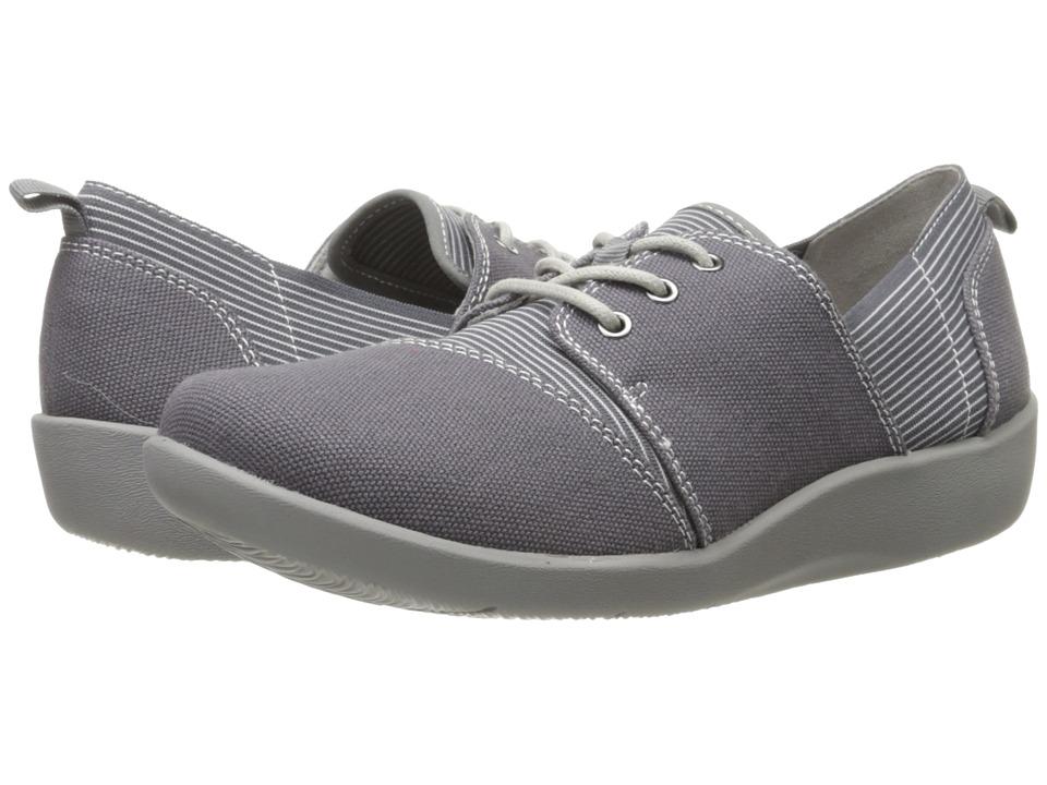 Clarks Sillian Joss Grey Womens Shoes