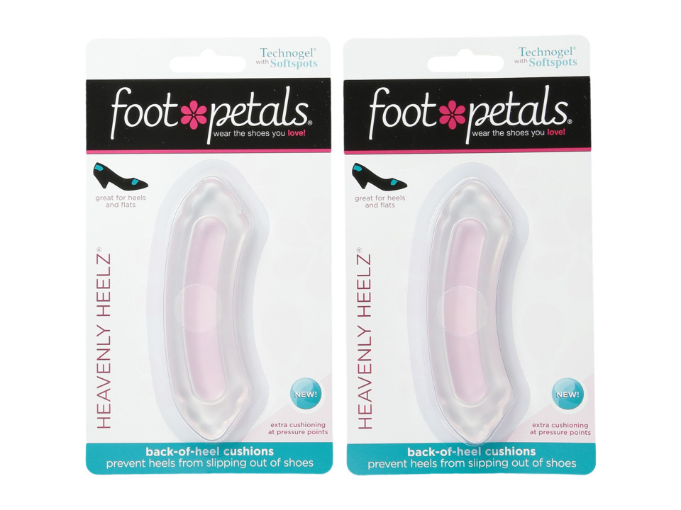 Foot Petals - Heavenly Heelz Technogel with Softspots 2-Pair Pack (Pink Gel) Insoles Foot Care