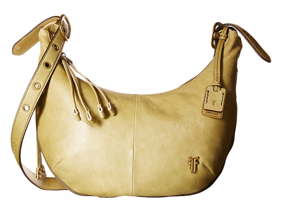 Frye - Belle Bohemian Crossbody (Moss) Cross Body Handbags