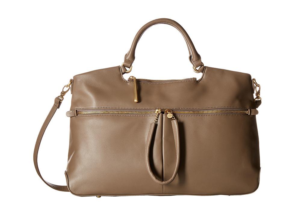 Hobo - City Light Tote (Slate) Satchel Handbags