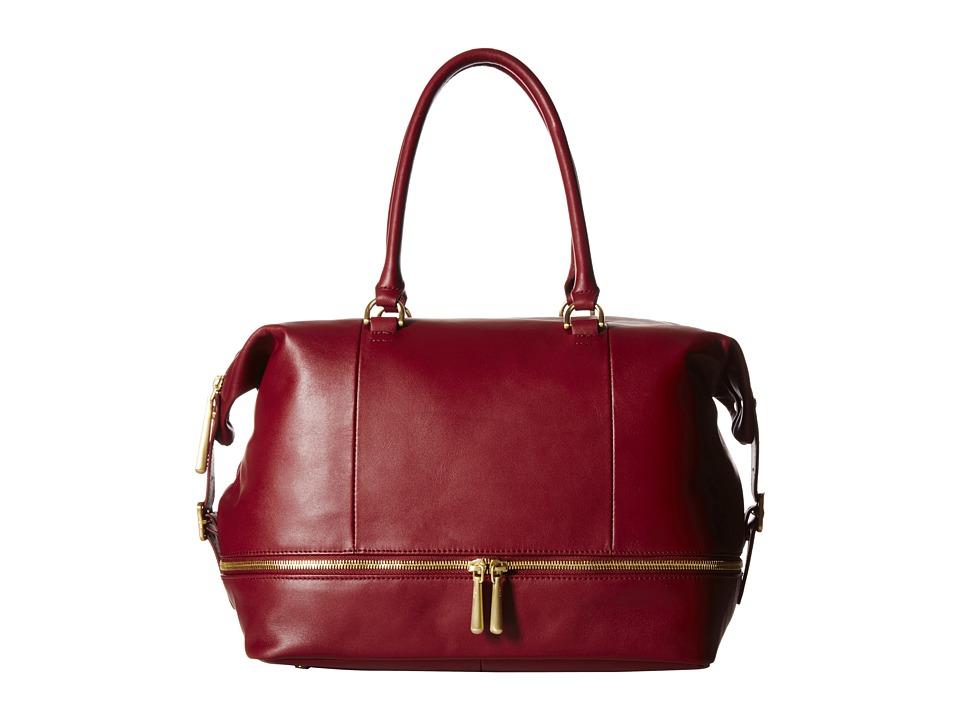Hobo - Fast Lane Satchel (Wine) Satchel Handbags
