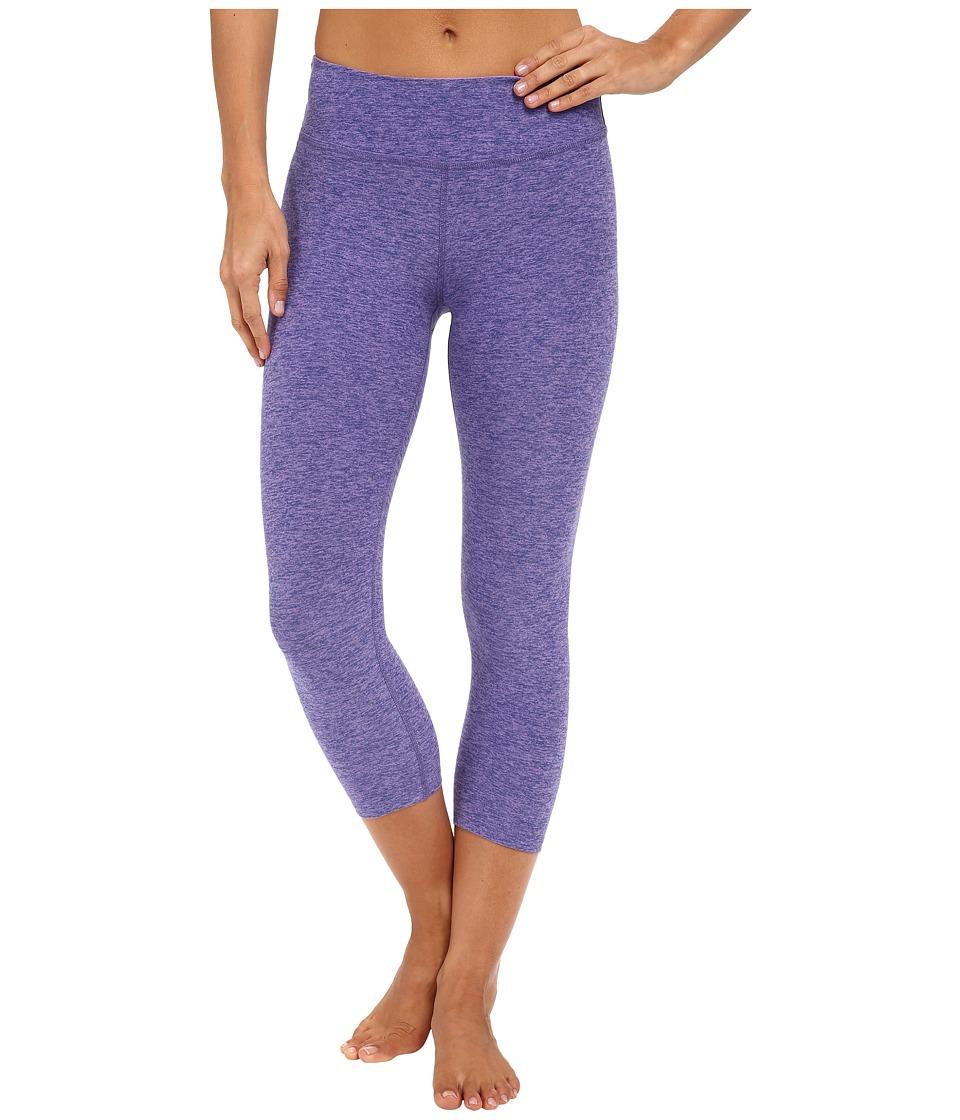 Beyond Yoga Capri Leggings Faded Denim/Lavender Spacedye Womens Capri