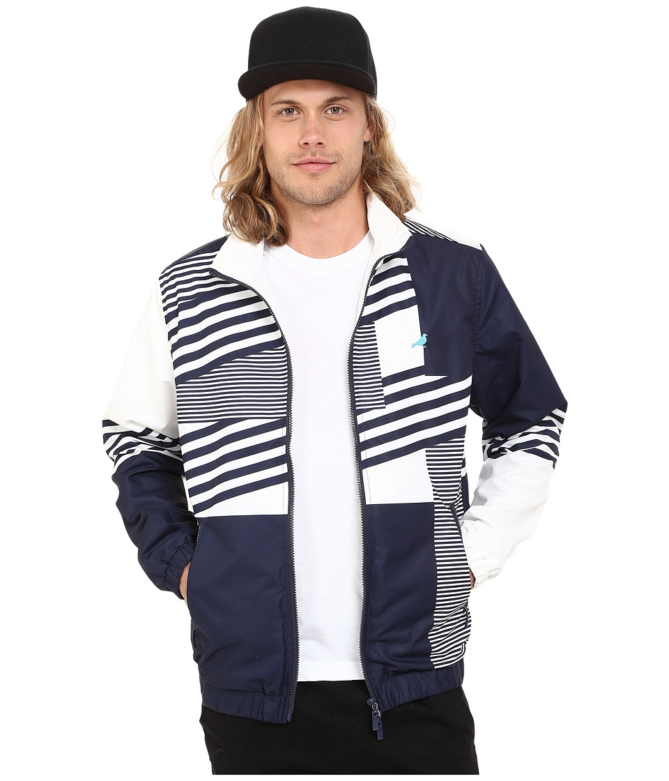 Staple Dazzle Jacket Navy Mens Coat