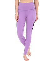 Beyond Yoga - High Waist Stripe Mesh Long Leggings